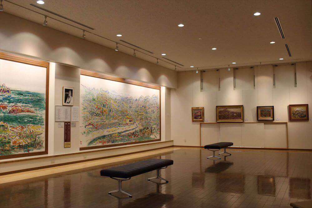 新館一階展示室